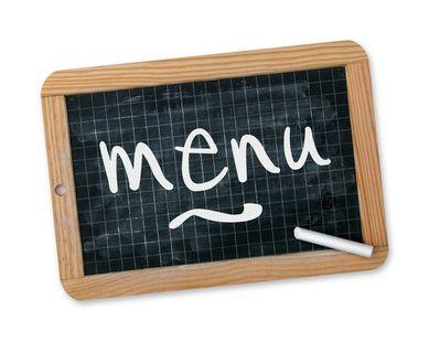 Les menus du réfectoire